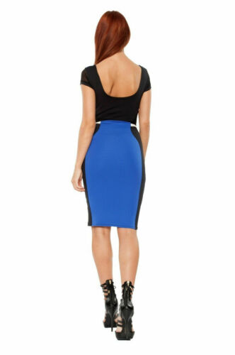 Dress New Blue Rrp S Women Quontum Gorgeous White Black 60 Small £ IUUxZqwTf