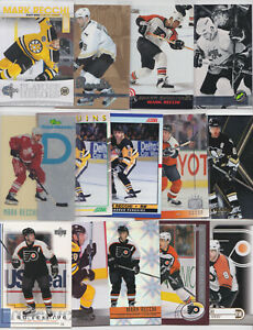 Mark Recchi 52 Card Lot All Different With Inserts See Scans NHL Hockey