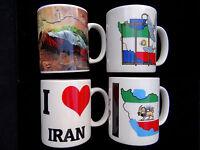 Iranian Persian Flag Map Mug Iran Shir Khorshid Farvahar Lion Sun Persia Pahlavi