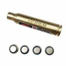 223 Rem Laser Red Cartridge Bore Sight 5.56 NATO Boresight for Scope Batteries