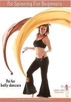 Poi Spinning For Beginners - Learn Bellydance Fire And Veil Spinning Tricks Dvd