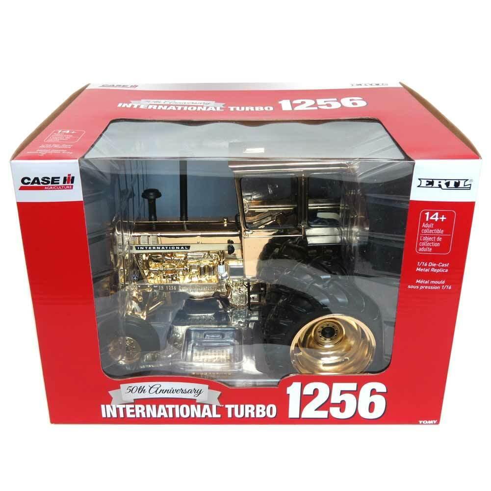 oro CHROME 1 16 50th Anniversary International Harvester 1256 RARE ERTL 44117