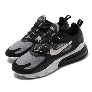 Details about Nike Air Max 270 React Black Grey White Mens Running Shoes AO4971 001