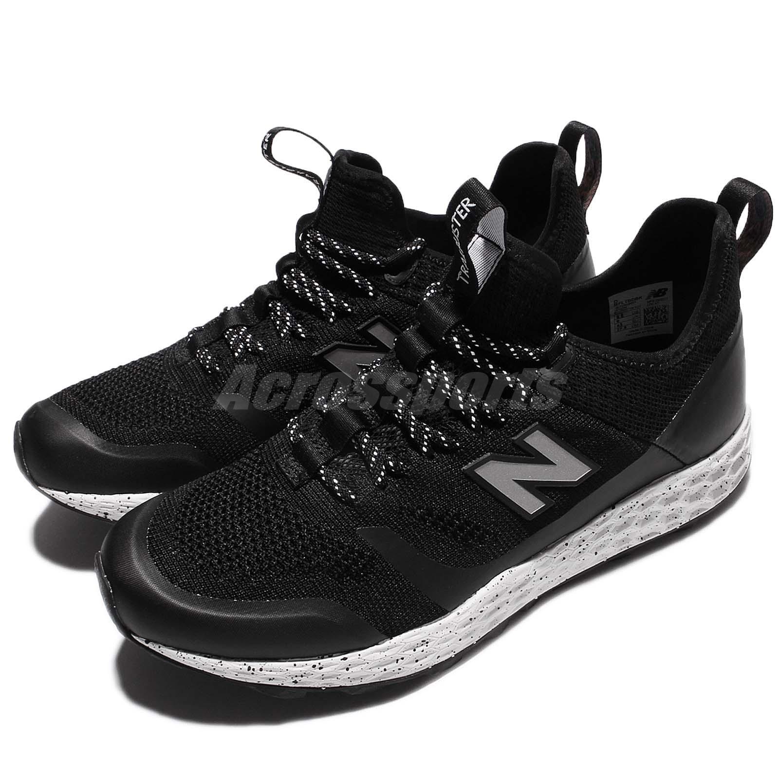 New Balance MFLTBDBK D Trailbuster Black White Men Outdoors Shoes MFLTBDBKD