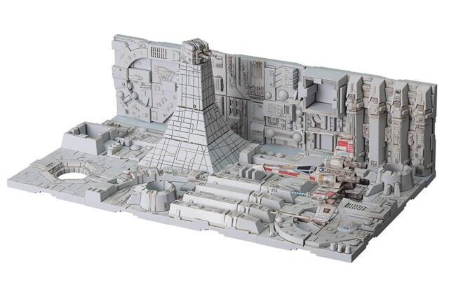 Star Wars Estrella de la Muerte Captura Juego Plástico Modelo Bandai Japón