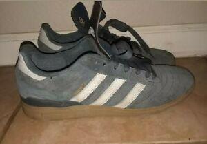 RARE-Adidas-Dennis-Busenitz-Signature-Shoes-Sz-10-5-Blue-White-Suede