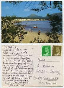 56683-Cala-Ratjada-Playa-de-Cala-Guya-Mallorca-AK-gelaufen-13-10-1977