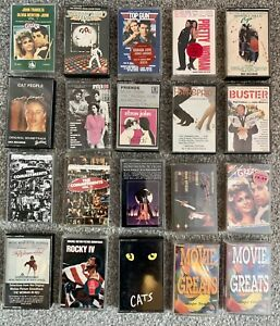 Cassette Tapes Bundle Job lot Soundtracks Films Movies  x 20 No 3