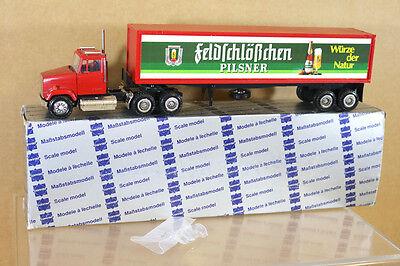 Freightliner Of Nh >> Conrad Nzg 3820 Freightliner Lorry Bier Beer Truck Feldschlobchen Pilsner Nh Ebay