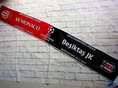 Echarpe scarf  AS MONACO FC asm Valence signed MARTIAL BERBATOV YF CARRASCO
