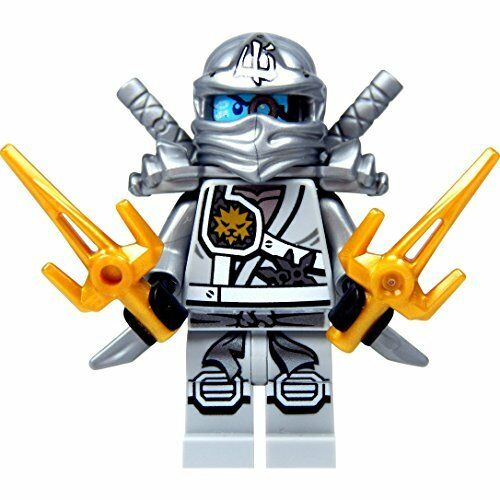 Lego Ninjago Minifigure Zane /& Weapons 70748 **New** **Genuine**
