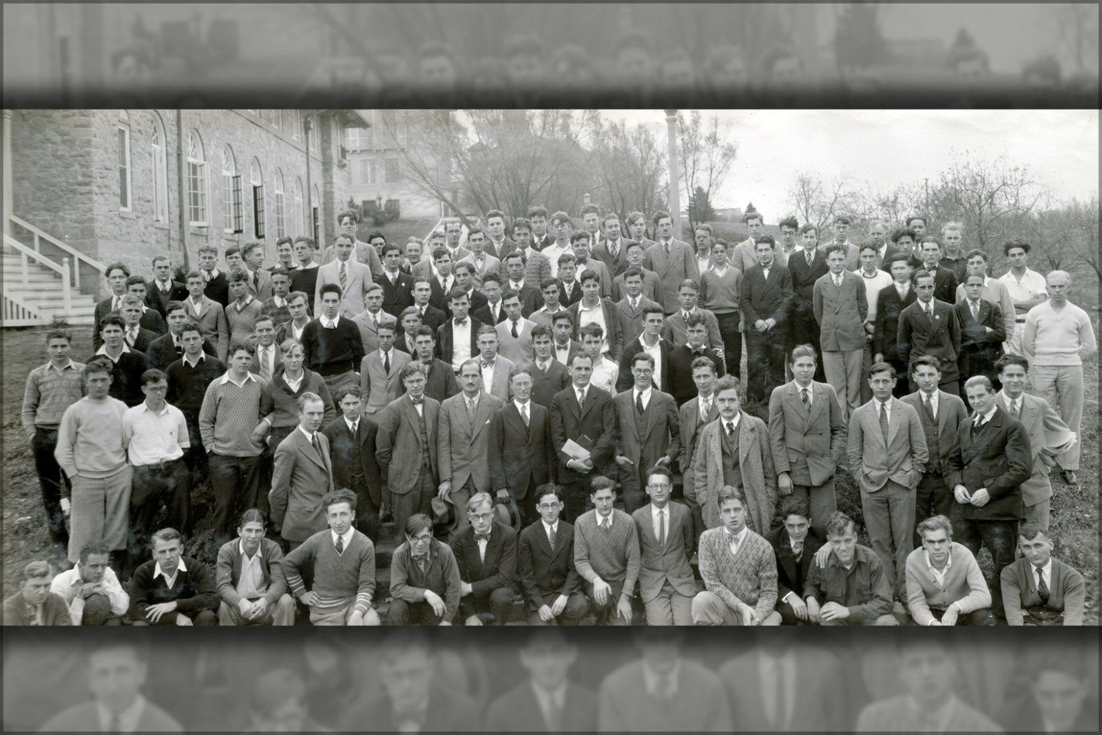 Plakat, Viele Größen; University Of Wisconsin Experimental College 1927 Gruppe