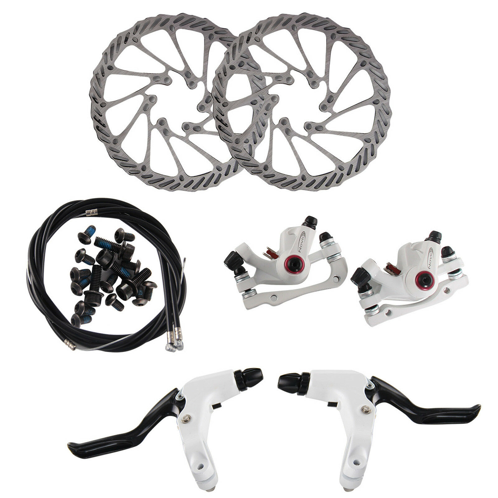 Fahrrad Scheibenbremse Set G3 mechanische Scheibe vorne/&hinten MTB Bremsscheibe