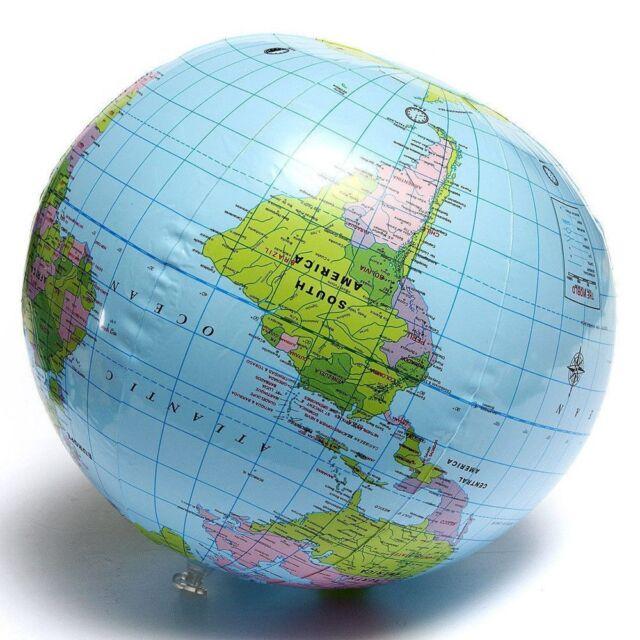 ball beach ball geography educational 40cm inflatable globe world map toys