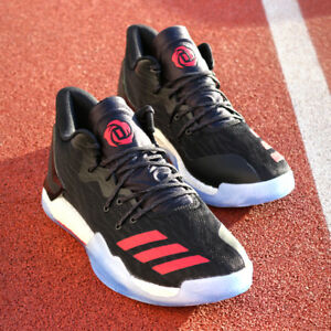 bffe3295803 adidas D Rose 7 Low BW0942 Derrick Black Red White Bulls ...