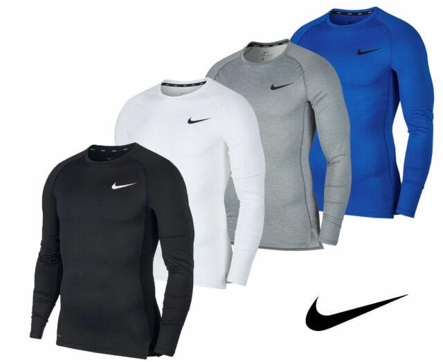 Nike Pro Tight Crew Compression Running SS Shirt DriFit Sport Cycling Base Layer