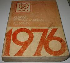 Service Manual Buick All Series Skyhawk Skylark Century Electra Riviera Estate!