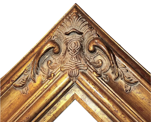 5-5-034-WIDE-Gold-Leaf-Ornate-Antique-Family-Oil-Painting-Wood-Picture-Frame-620AG