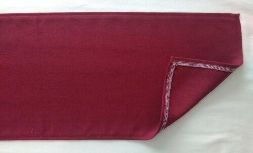 "Red plain design Fabric Table Runner 9/"" X 59/"""
