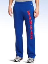 Soffe NCAA Kansas JAYHAWKS Blue Fleece Pocket Pant - Small