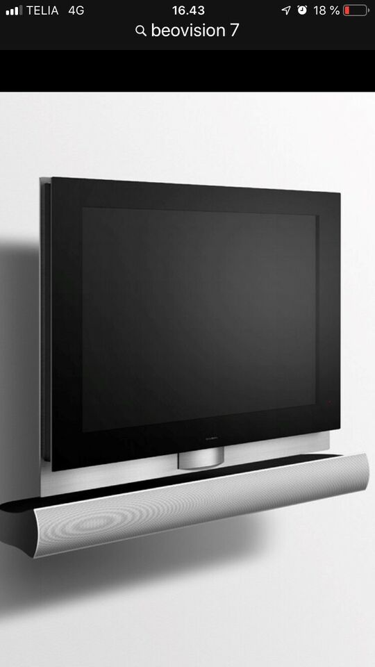 "LCD, Bang & Olufsen, Beovision 7 32"""