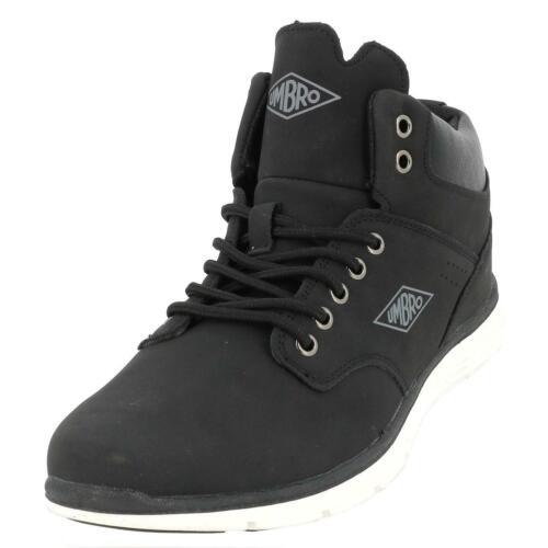 Neuf Chaussures mode ville Umbro Hordock h noir mid Noir 49462