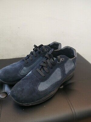Navy Prada Trainers/Shoes Size