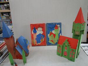 DUBREUCQ-Jeu-belge-de-construction-034-mon-village-034-en-carton-id-puzzle-Tintin