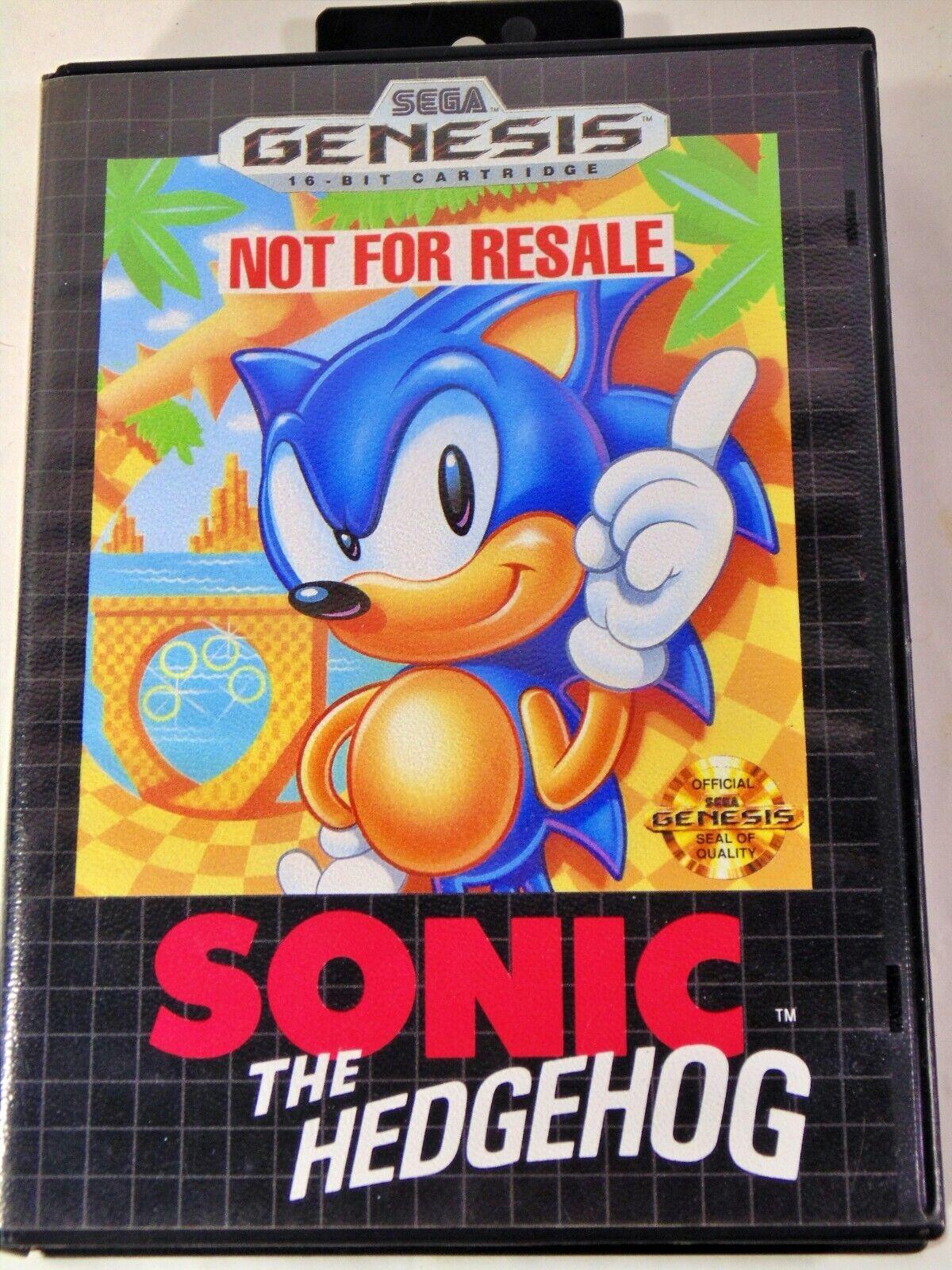 Sonic The Hedgehog Sega Genesis 1991 For Sale Online Ebay