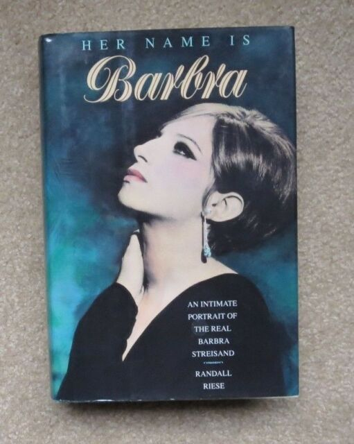 Her Name Is Barbra : An Intimate Portrait ... by R Riese, 1993, 1st Print. HCDJ