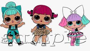 Iron-on-Transfer-LOL-SURPRISE-doll-dolls-troublemaker-pranksta-cherry-20x10cm