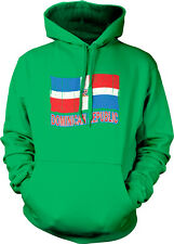 Dominican Swag Flag Colors Republic Heritage Proud Team From Hoodie Sweatshirt