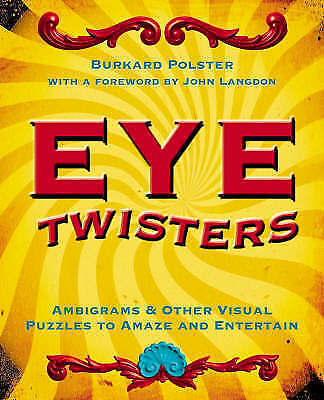 Eye Twisters, Polster, Burkard, Very Good Book