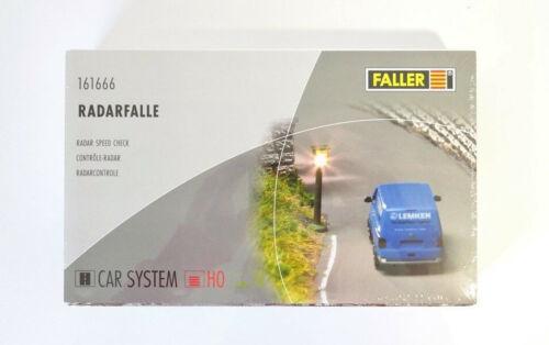 sistema car radarfalle Faller h0//n 161666 embalaje original nuevo