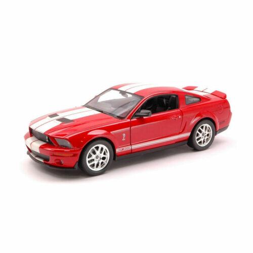 Welly 22473 Shelby Cobra Gt 500 Rojo//Blanco Escala 1:24 Coche a Escala ¡Nuevo °