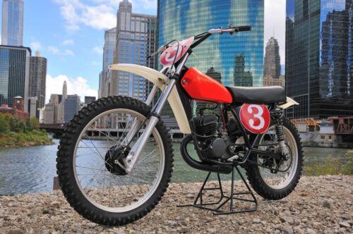 1972 Honda RC125M works bike Photo and Video CD vintage motocross elsinore 1974
