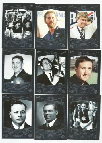 Men In Charge 9 Cards 2014 Select 150 Years CARLTON Football Club
