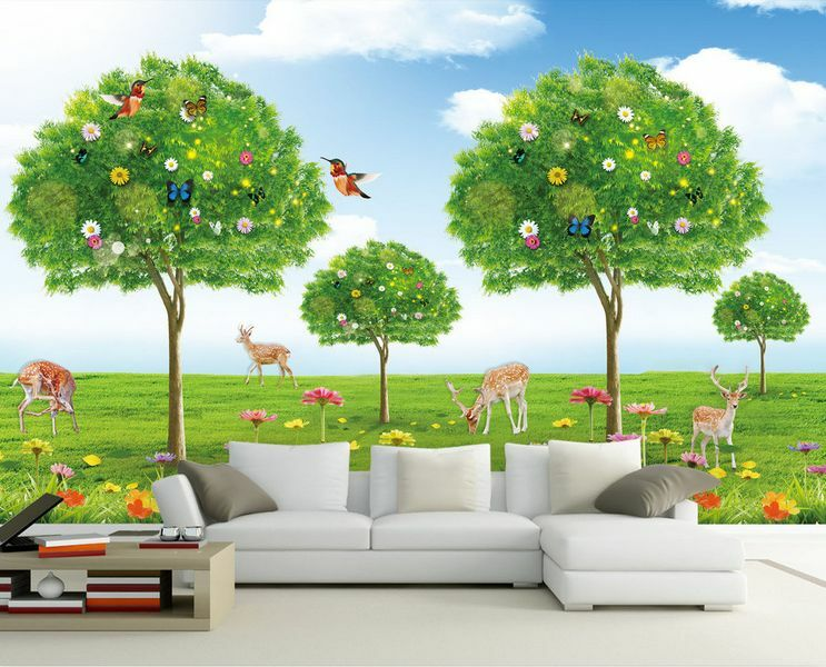 3D Forest cheerful animals 32 Wall Paper Wall Print Decal Wall Deco AJ WALLPAPER