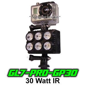 Ghost Light GL6-PRO-GP15 IR//UV Night Vision Light for Full Spectrum Gopro