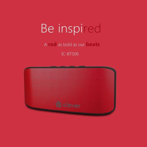 Wireless Bluetooth Speaker Portable with Mic Super Bass Stereo Loudspeakers 10hr