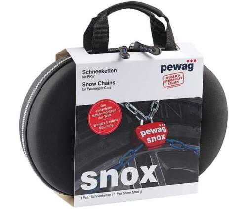 PROFESSIONALI SI TENDONO DA SOLE CATENE DA NEVE AUTO PEWAG SNOX SX 550