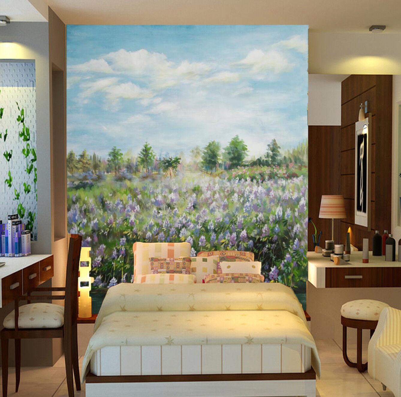 3D Himmel Blaumen 799 Tapete Wandgemälde Tapete Tapeten Bild Familie DE Lemon