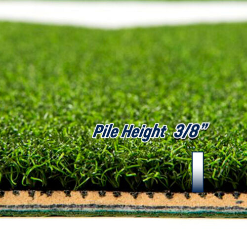 Pro-Ball Baseball Hitting Mat with Inlaid Home Plate 6x12 Green