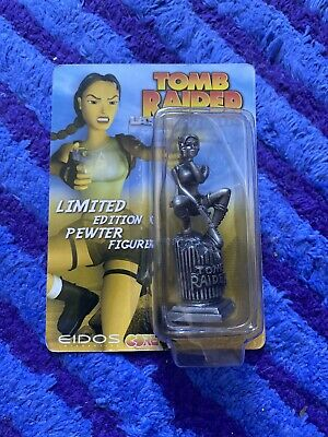Rare HTF Tomb Raider the Last Revelation Limited Edition Pewter Figure