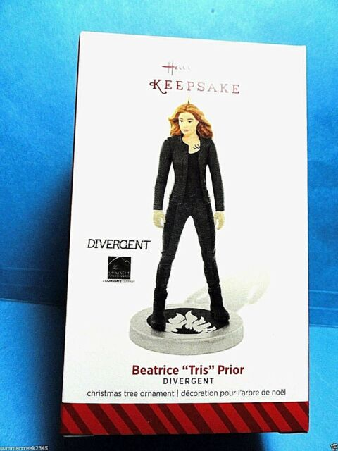 """Hallmark """"Beatrice Tris Prior"""" Divergent Ornament 2014"""