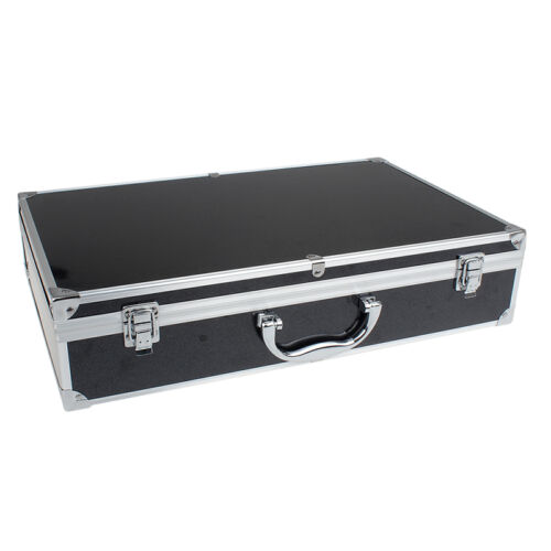 Aluminum Alloy BLACK Carrying Case Box Hand Bag For Hubsan X4 H501S FPV RC Drone