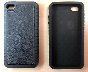 quality design ab683 31373 Details about 2X iPhone 4 4S Thick Rubber Case in Black - 2 case