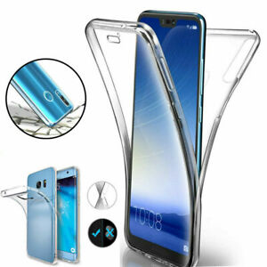 For-Huawei-P20-30-Pro-Mate-Lite-360-Full-Body-Clear-Silicone-Case-Cover-Acces