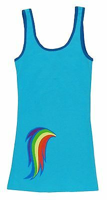 My Little Pony Rainbow Dash Costume Mlp Tunic Tank Dress