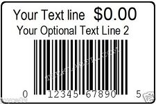 1000 Custom Printed Upc Ean Barcode Labels Only With Your E Mailed Upc Number